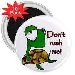 Turtle Joke 3  Magnets (10 Pack)