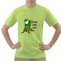 Turtle Joke Green T Shirt