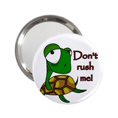 Turtle Joke 2 25  Handbag Mirrors
