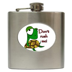 Turtle Joke Hip Flask (6 Oz)