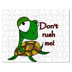 Turtle Joke Rectangular Jigsaw Puzzl
