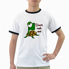Turtle Joke Ringer T Shirts