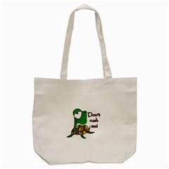 Turtle Joke Tote Bag (cream)