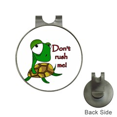 Turtle Joke Hat Clips With Golf Markers
