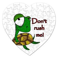 Turtle Joke Jigsaw Puzzle (heart)