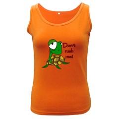 Turtle Joke Women s Dark Tank Top