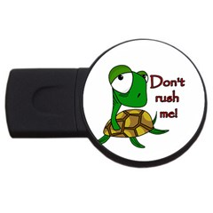 Turtle Joke Usb Flash Drive Round (4 Gb)