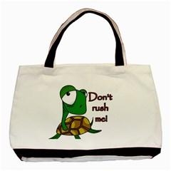 Turtle Joke Basic Tote Bag