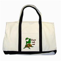 Turtle Joke Two Tone Tote Bag