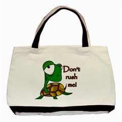 Turtle Joke Basic Tote Bag (two Sides)