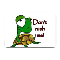 Turtle Joke Small Doormat