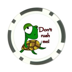 Turtle Joke Poker Chip Card Guards