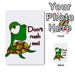 Turtle Joke Multi Purpose Cards (rectangle)