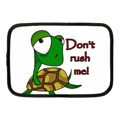 Turtle Joke Netbook Case (medium)