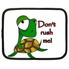 Turtle Joke Netbook Case (large)