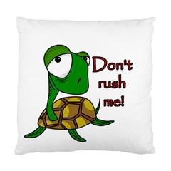 Turtle Joke Standard Cushion Case (one Side)