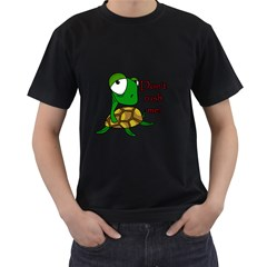 Turtle Joke Men s T Shirt (black)