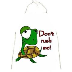 Turtle Joke Full Print Aprons