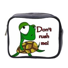 Turtle Joke Mini Toiletries Bag 2 Side