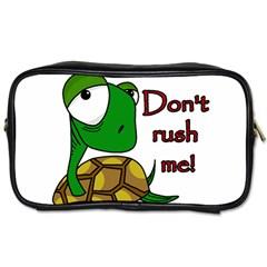 Turtle Joke Toiletries Bags