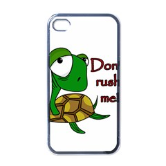 Turtle Joke Apple Iphone 4 Case (black)
