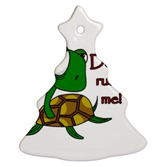 Turtle Joke Ornament (christmas Tree)