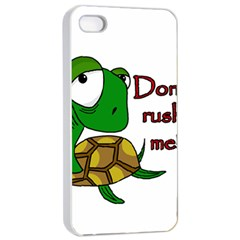 Turtle Joke Apple Iphone 4/4s Seamless Case (white)