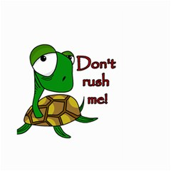 Turtle Joke Large Garden Flag (two Sides)