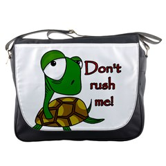 Turtle Joke Messenger Bags