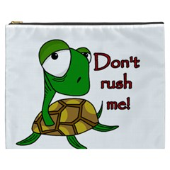 Turtle Joke Cosmetic Bag (xxxl)