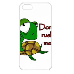 Turtle Joke Apple Iphone 5 Seamless Case (white)
