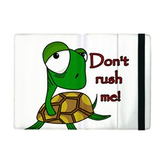 Turtle Joke Apple Ipad Mini Flip Case