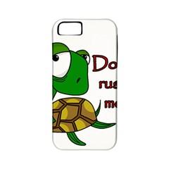 Turtle Joke Apple Iphone 5 Classic Hardshell Case (pc+silicone)
