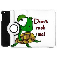Turtle Joke Apple Ipad Mini Flip 360 Case