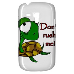 Turtle Joke Samsung Galaxy S3 Mini I8190 Hardshell Case
