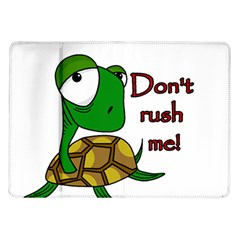 Turtle Joke Samsung Galaxy Tab 10 1  P7500 Flip Case