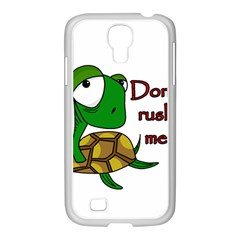 Turtle Joke Samsung Galaxy S4 I9500/ I9505 Case (white)