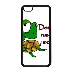 Turtle Joke Apple Iphone 5c Seamless Case (black)