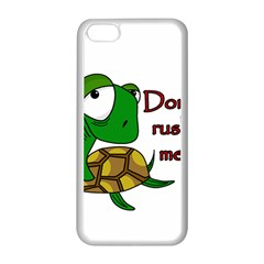 Turtle Joke Apple Iphone 5c Seamless Case (white)