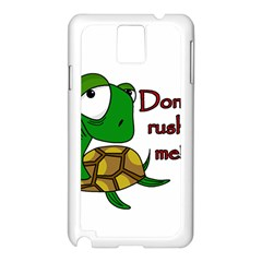 Turtle Joke Samsung Galaxy Note 3 N9005 Case (white)