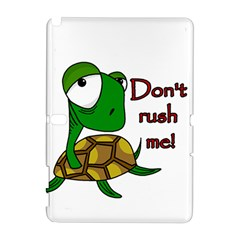 Turtle Joke Samsung Galaxy Note 10 1 (p600) Hardshell Case