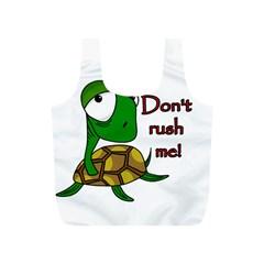 Turtle Joke Full Print Recycle Bags (s)