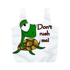 Turtle Joke Full Print Recycle Bags (m)