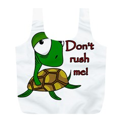 Turtle Joke Full Print Recycle Bags (l)