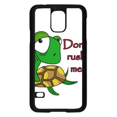 Turtle Joke Samsung Galaxy S5 Case (black)