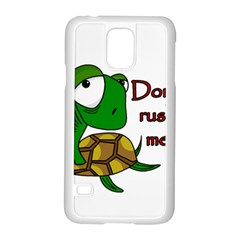 Turtle Joke Samsung Galaxy S5 Case (white)