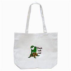 Turtle Joke Tote Bag (white)
