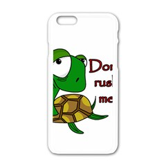 Turtle Joke Apple Iphone 6/6s White Enamel Case