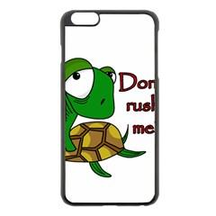 Turtle Joke Apple Iphone 6 Plus/6s Plus Black Enamel Case