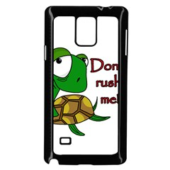 Turtle Joke Samsung Galaxy Note 4 Case (black)